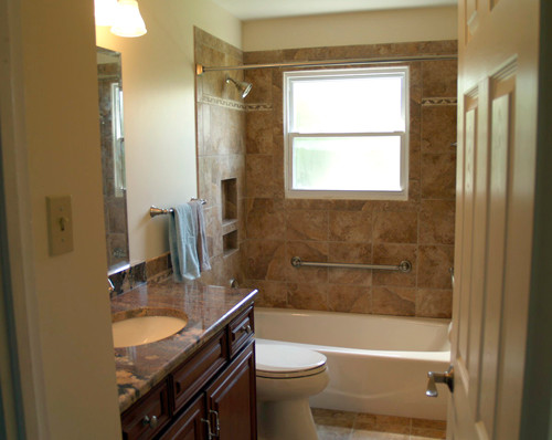 Homes and Additions traditional-bathroom
