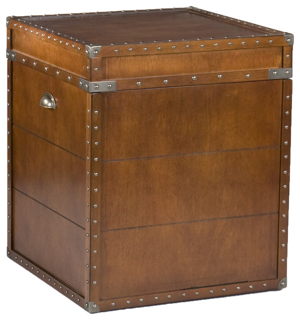 Bristol Trunk End Table traditional-side-tables-and-end-tables