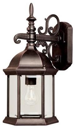 Maxim Builder Cast Outdoor Wall Lantern - 16H in. Empire Bronze modern-outdoor-lighting