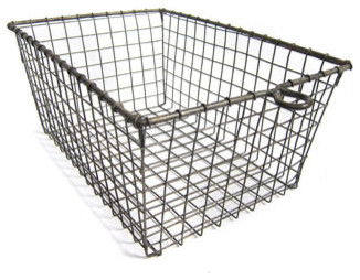 Wire Gym Locker Baskets traditional-baskets