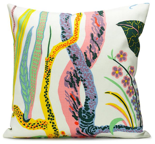 Cushion Hawaii Cotton tropical-decorative-pillows