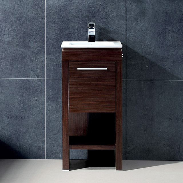 vigo 16 inch aristo single bathroom vanity contemporary