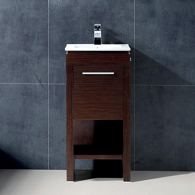 Vigo 16-Inch Aristo Single Bathroom Vanity - Contemporary - Bathroom Vanities And Sink Consoles ...