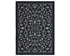 Resorts Black/ Sand Rug traditional-outdoor-rugs