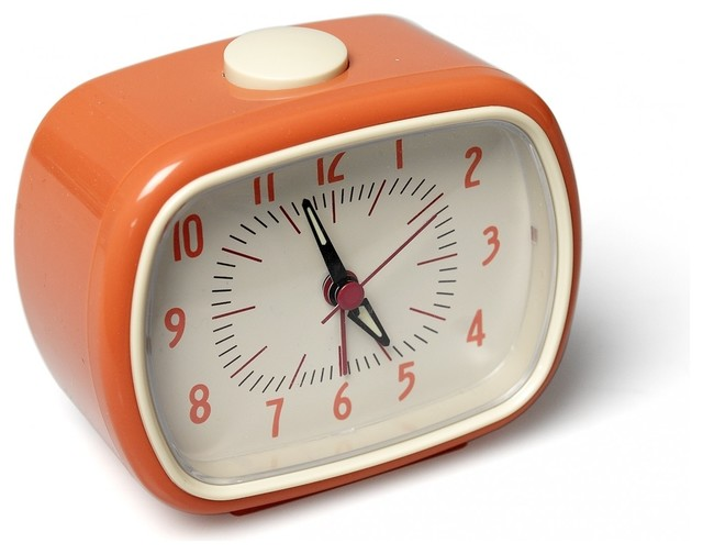 Alarm Clock Bakelite Orange