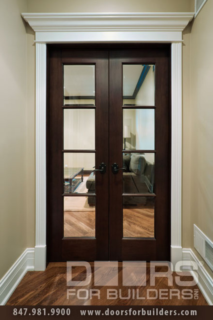 SOLID WOOD ENTRY DOORS-DOORS FOR BUILDERS, INC eclectic interior doors