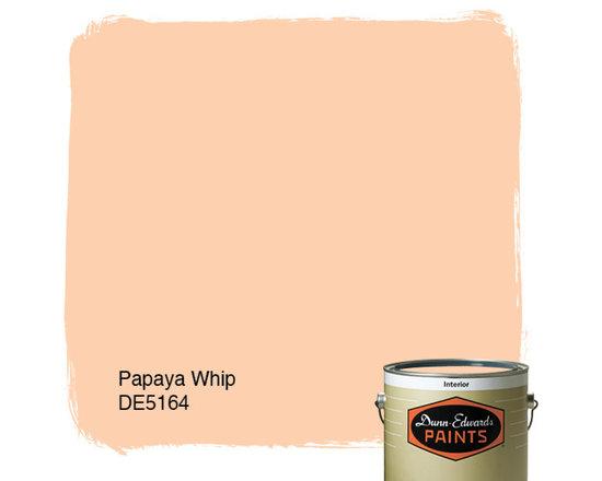 Dunn-Edwards Paints Papaya Whip DE5164 -