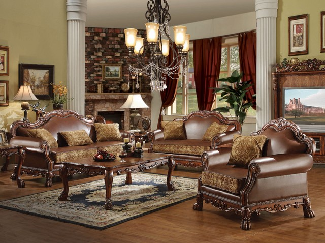 ACME Furniture Dresden Living Room Collection Traditional Furniture New