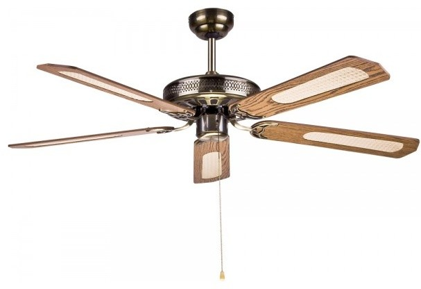 Traditional Hampton Bay Bamboo Ceiling Fan