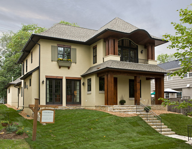 Minneapolis Residence traditional-exterior