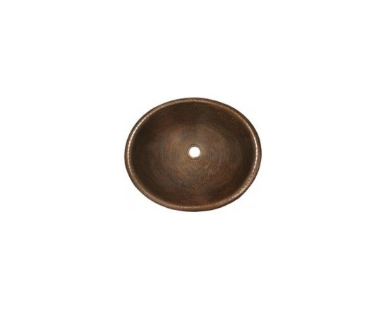 "Rolled Classic in Antique - Rolled Classic in Antique Full Specifications - 18 gauge hammered copper. 1.5 In. drain. IAPMO listed / cUPC certified. Post-consumer recycled copper. 18 1/2"" W x 5 1/2"" H x 15 1/2"" D"