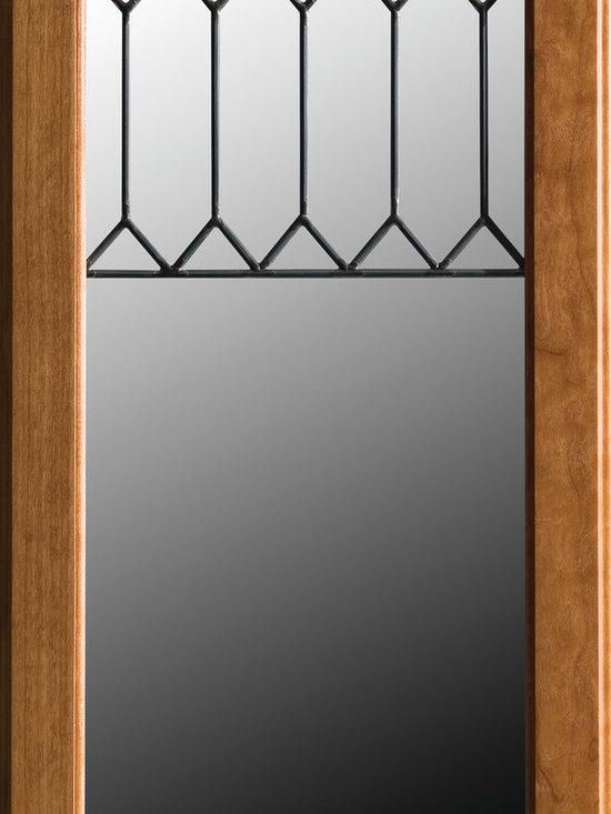 "Dura Supreme Cabinetry - Dura Supreme Cabinetry LG-52 Leaded Glass Cabinet Door. - Dura Supreme Cabinetry ""LG-52"" Leaded Glass Cabinet Door."