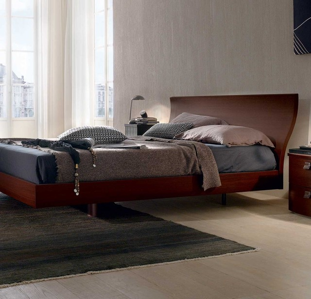 Onda Low Platform Bed by Europeo modern beds