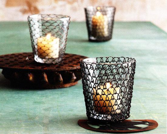 Boucle Wire Tea Light -
