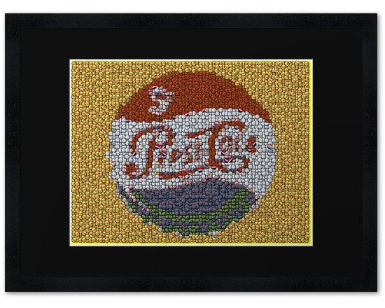 Classic Pepsi Cola Framed Print -