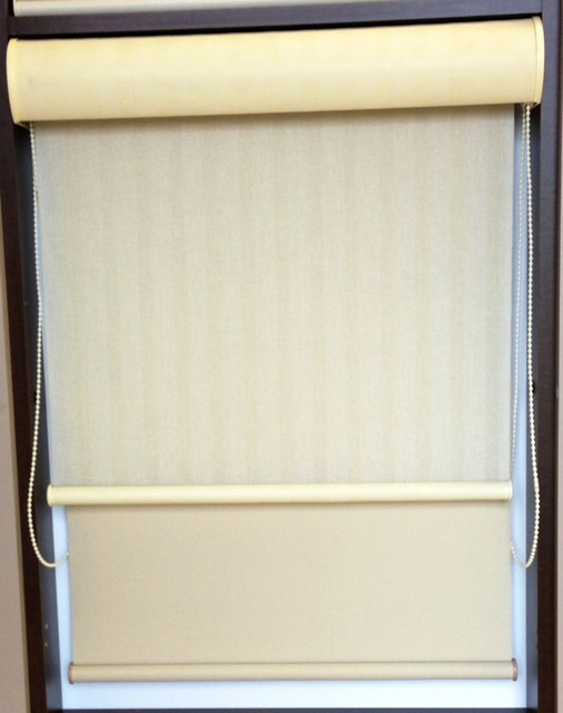 Dual Roller Shades by Hunter Douglas - Roller Shades - other metro - by Complete Blinds
