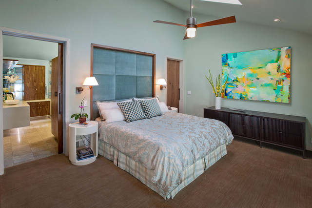 Carmichael Residence contemporary-bedroom