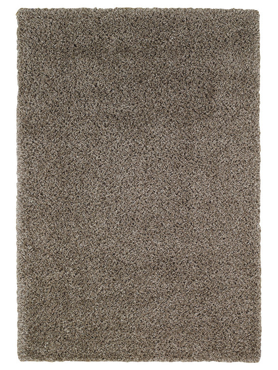 Chill Out rug in Grey Taupe - Austin Powers has nothing on us.  Our Chill Out shag is fashion for the floor with trend setting style in an on-trend color palette.