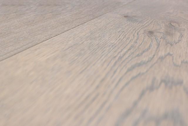 Grey wash oak flooring supplied prefinished hardwood for 180 water street 9th floor