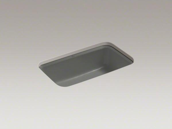 """KOHLER Bakersfield(TM) 31"""" x 22"""" x 8-5/8"""" under-mount single-bowl kitchen sink w contemporary-kitchen-sinks"""