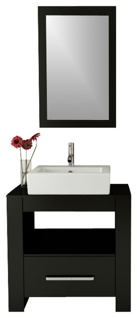 31 5 Quot Libra Small Single Vessel Sink Modern Bathroom