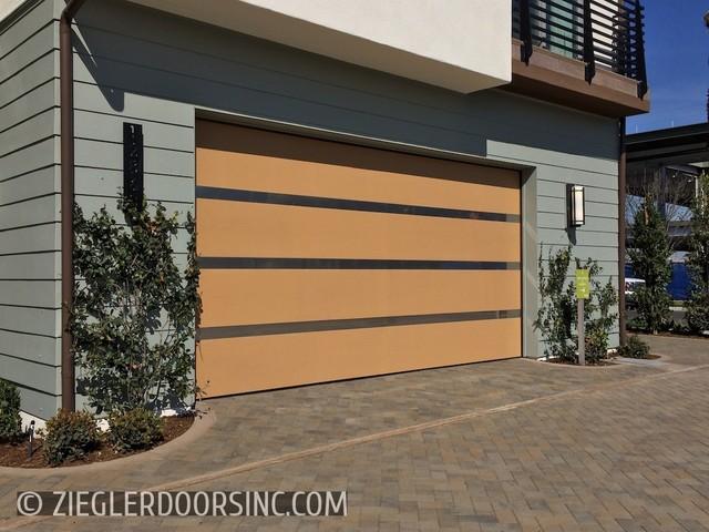 door modern garage and shed los angeles by ziegler doors inc