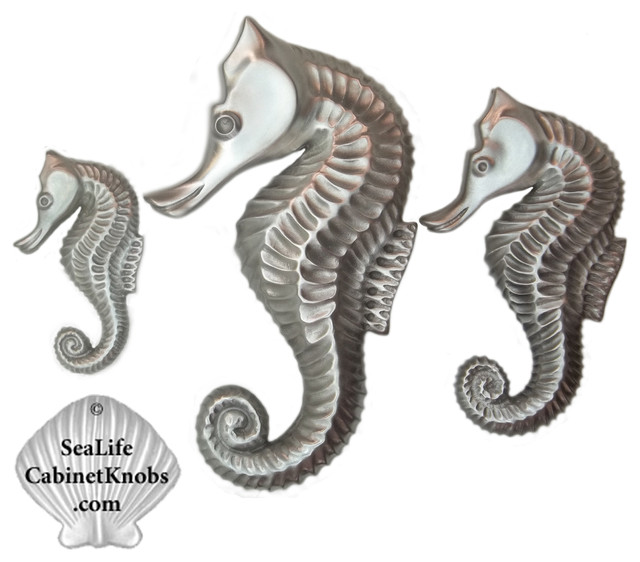 Nautical Drawer Pulls - Beach Style - orlando - by Sea Life Cabinet Knobs by Peter Costello