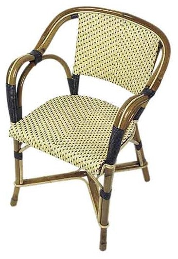 Authentic French Cafe Chair mediterranean chairs