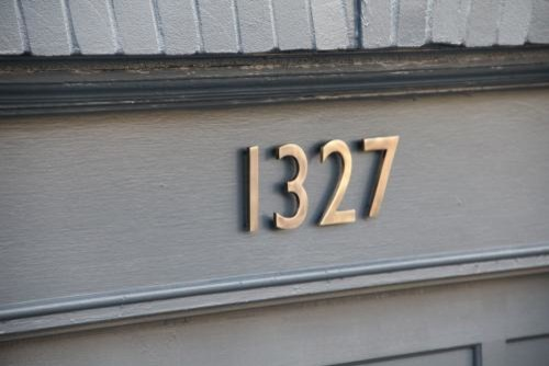 House Numbers Modern Mailboxes Los Angeles By