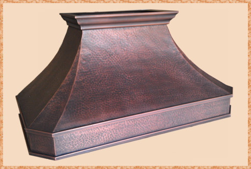 Copper Range Hoods traditional-kitchen-hoods-and-vents