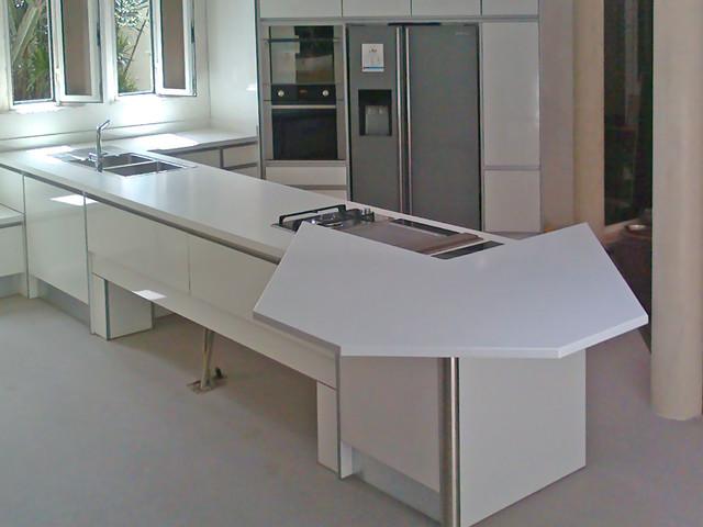 Lava Stone Countertops : Enameled lava stone kitchen contemporary