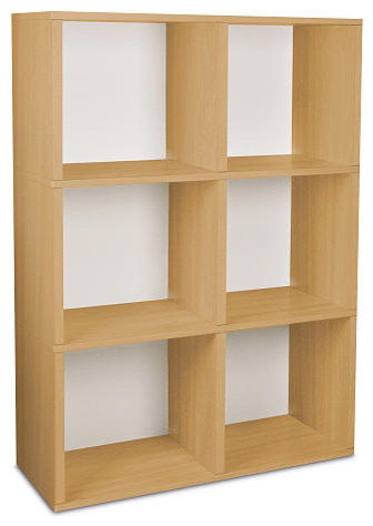 Eco-Friendly Tribeca Bookcase and Storage - Natural modern-kids-bookcases