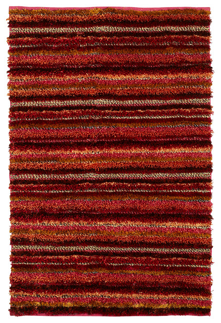 Sunset Shag Rug Contemporary Rugs Other Metro By