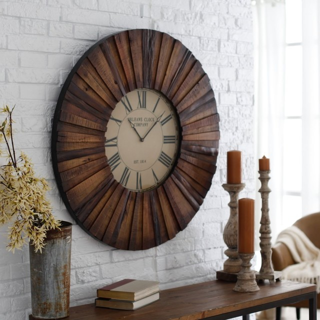 Make a bold statement of style in your home with the Cooper Classics Chatham 36- traditional-clocks