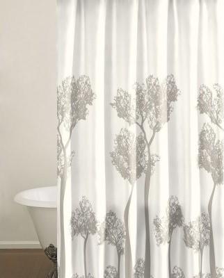 City Scene Tree Top Shower Curtain modern-shower-curtains