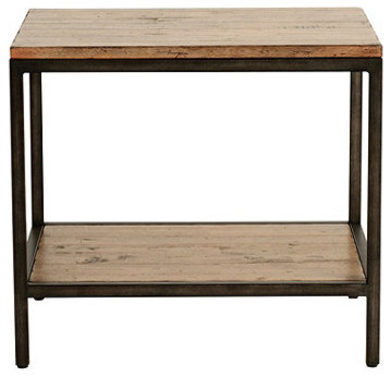 Durham Rectangular End Table industrial-side-tables-and-end-tables