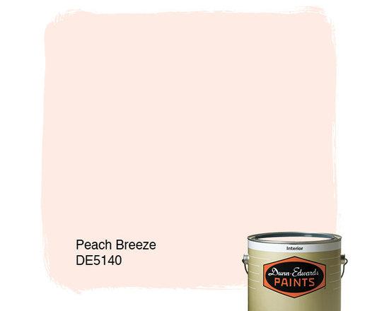 Dunn-Edwards Paints Peach Breeze DE5140 -