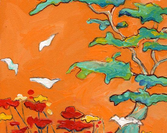 Fine Art- Paintings of Birds -