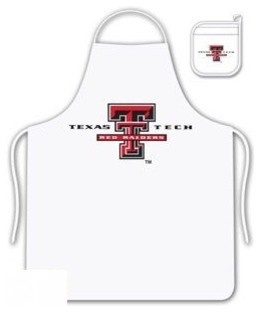 Texas Tech Red Raiders Tailgate Apron and Mitt Set aprons