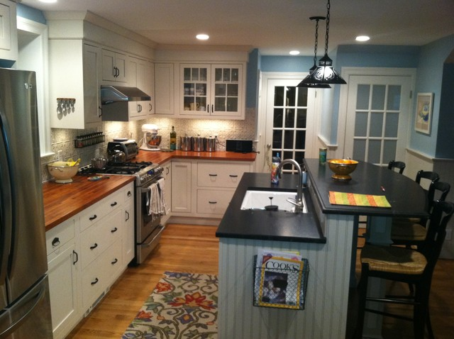 Devos Woodworking Provides Mesquite Countertops For New