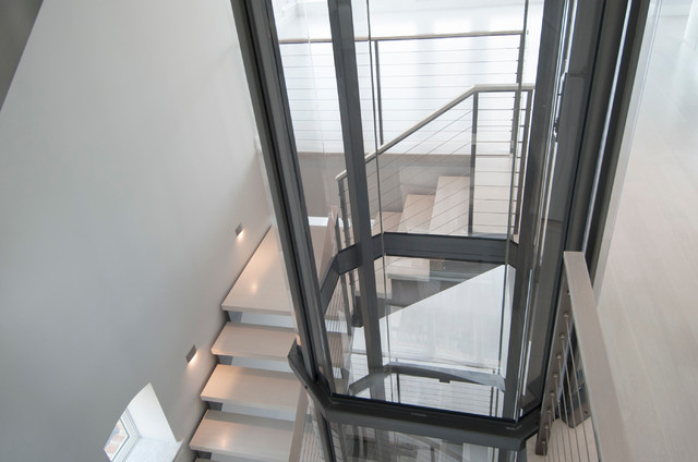 Visi 48 Residential Glass Elevator By Nationwide Lifts