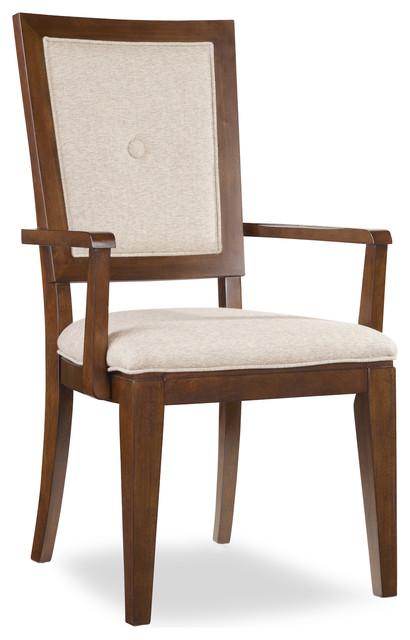 Button Back Arm Chair traditional-armchairs-and-accent-chairs