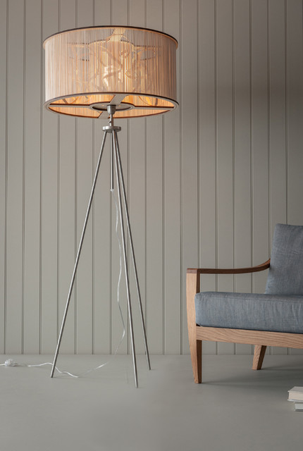 Tom Raffield Large Cage Floor Light Contemporary Floor