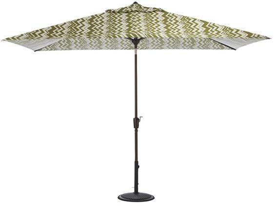 6 5 x 10 rectangular market umbrella canopy modern