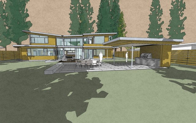 The Butterfly House contemporary-rendering