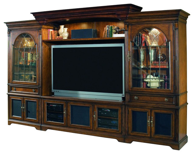 Hooker Furniture Brookhaven Home Theater Group with 65in