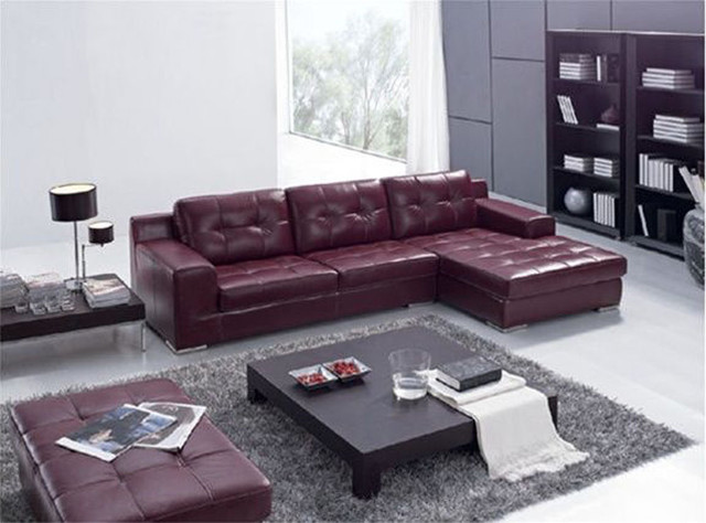 Exquisite Italian Leather Living Room Furniture
