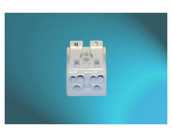 Pushwire Terminal Blocks (2Pole-White) -