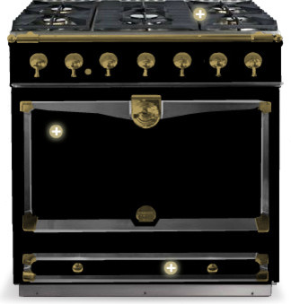 CornuF 90 Traditional Gas Ranges And Electric Ranges By