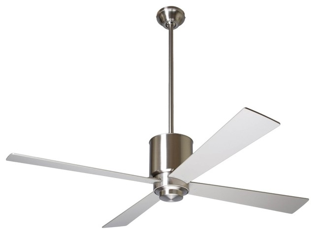 52 Modern Fan Lapa Bright Nickel Ceiling Fan